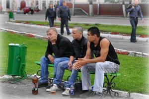 употребление спиртных напитков в общественных местах