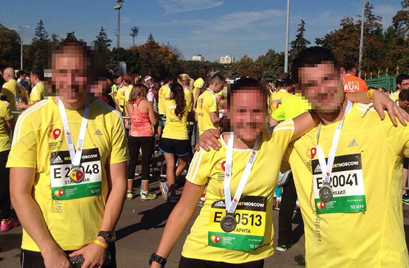 Московский марафон - забег на 10 км