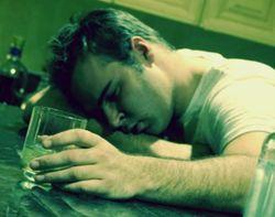 Rак отрезвить пьяного человека