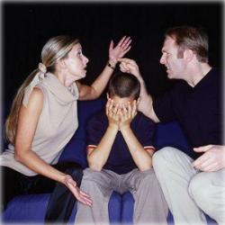 ссоры в семье - одна из причин наркомании
